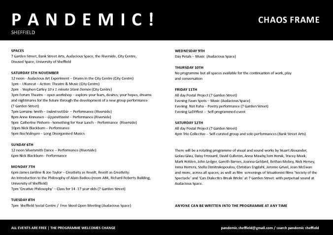 Pandemic Programme